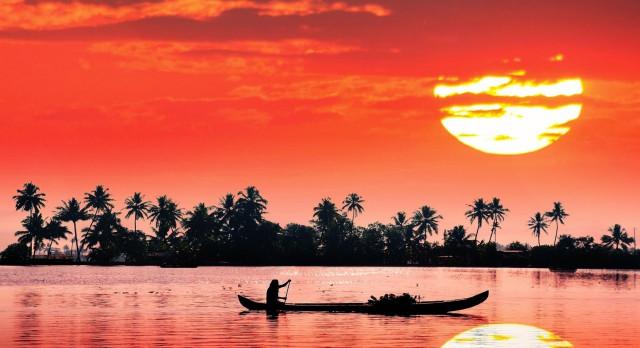 India Kerala Houseboat