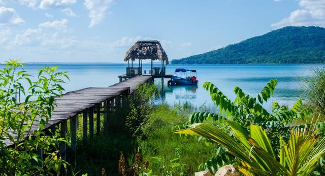Enchanting Travels Guatemala Tours Calm Lake with pier
