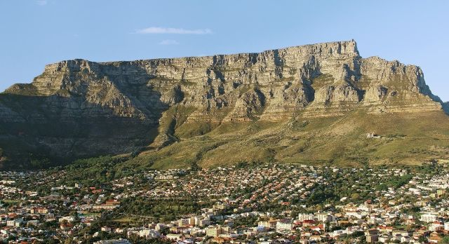 Tourist Attractions in South Africa - Table Mountain