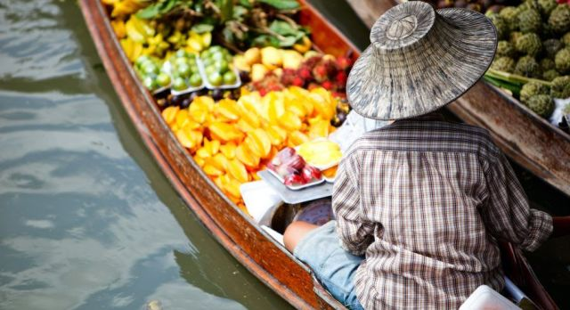 Thailand Colorful Market