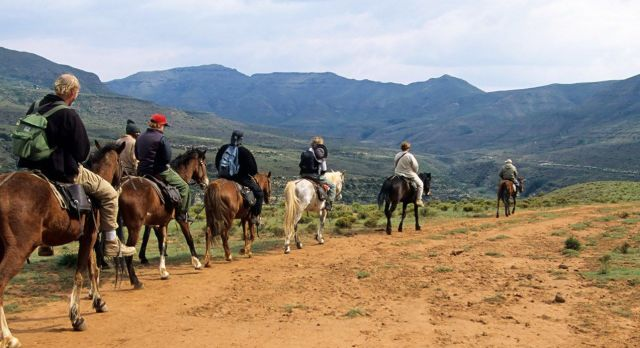 Lesotho Travel - horseriding