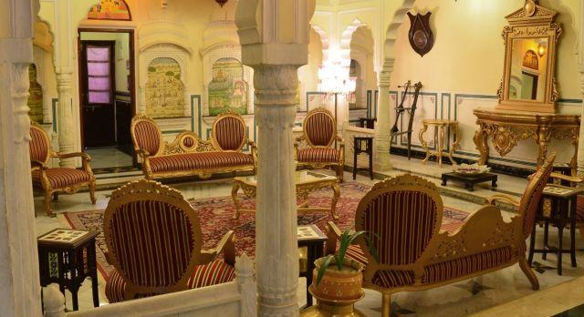 Lounge at Shahpura House Jaipur, North India