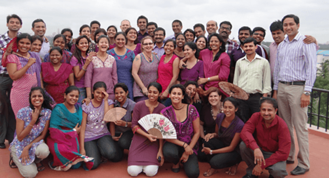 Enchanting Travels India Bangalore Office Team Members