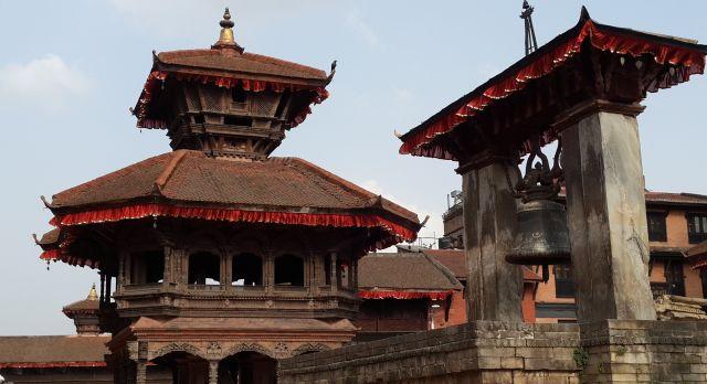 Historische Gebäude in Bhaktapur