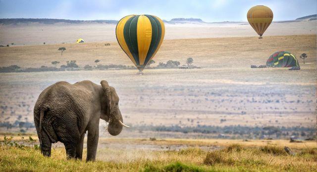 Ballonfahrt Masai Mara
