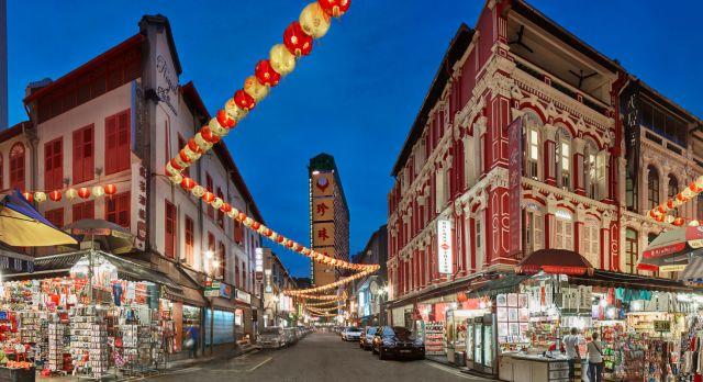 Hawker Center in Singapur