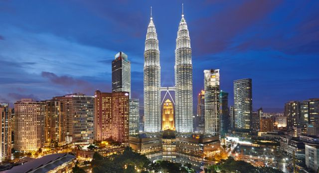 Gehören zu den wichtigsten Malaysia Sehenswürdigkeiten - Petronas Twin Towers, Malaysia