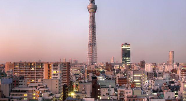 Panorama von Tokio