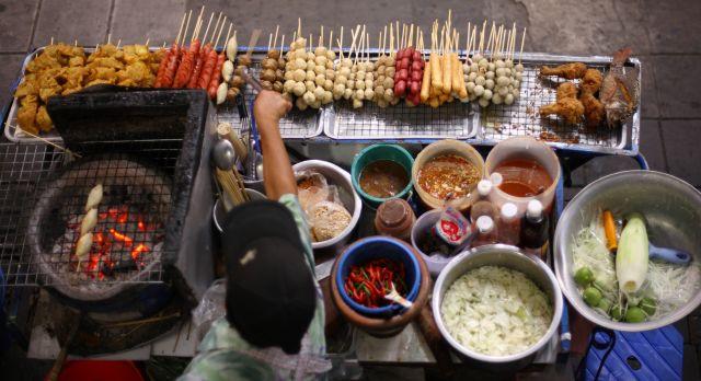 Köstliches Streetfood in Bangkok
