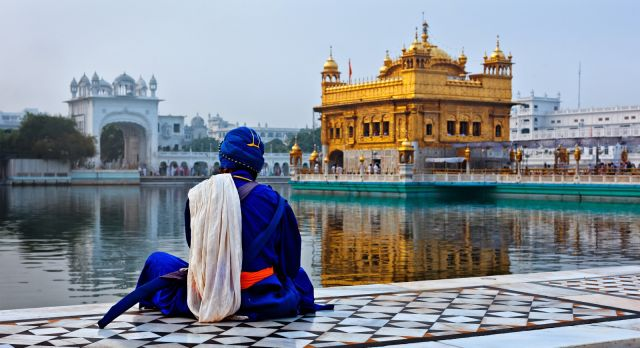 Golden Temple in Amritsar - Temple tours on North or South India Trips