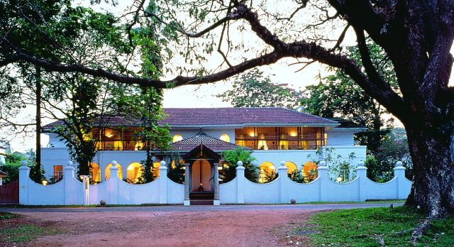 Stay in a typical colonial bungalow on a South India vacation