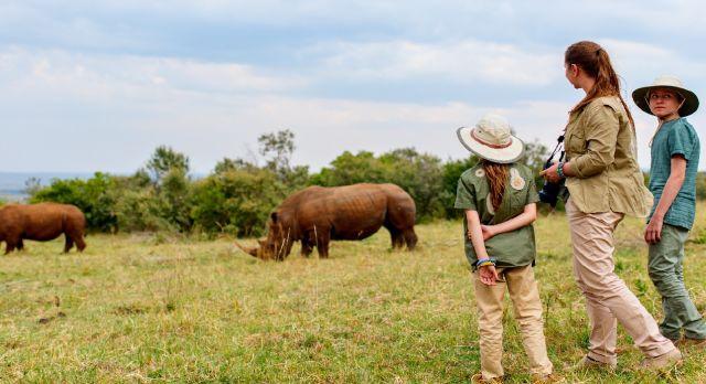Walking Safari Kenya Rhinos