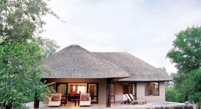 Exterior view Arathusa Safari Lodge - Winter in South Africa