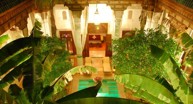 Spa Area at Ried Slitine Hotel in Marrakech, Morocco