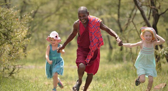 Tour a Maasai village