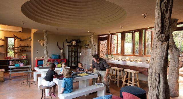 Kid friendly activities at the Madikwe Safari Lodge