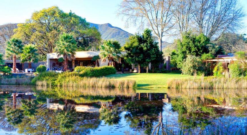 Häuschen am Teich