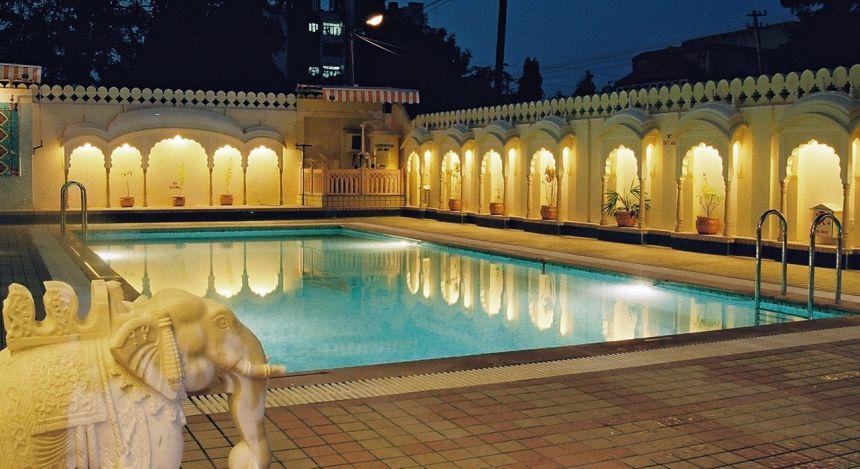Pool- Shahpura House Jaipur, Nordindien