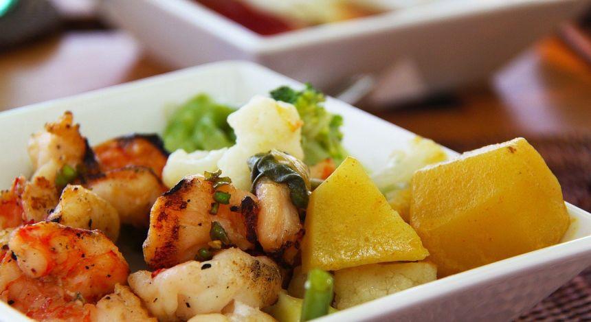 Curry mit Meeresfrüchten - eine Speztialität der Malediven