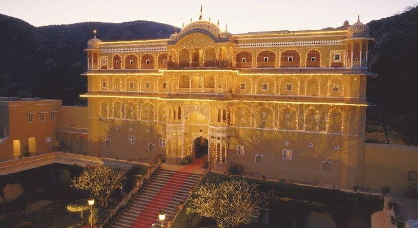 Enchanting Travels - Indien Resien- Samode Village-Samode Palace - Anwesen