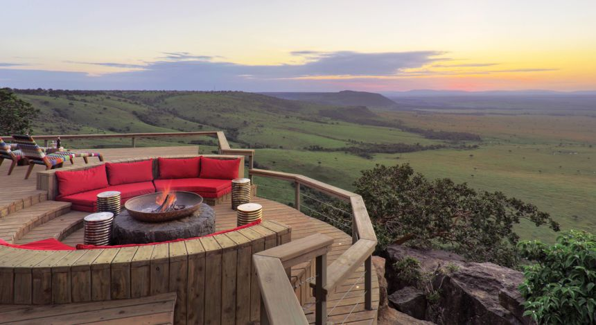 Stylish Sanctuaries: Our Top 10 Boutique Hotels of 2018 Enchanting Travels Kenya Tours Masai Mara Hotels angama_mara-Luxury Boutique Hotels of 2018