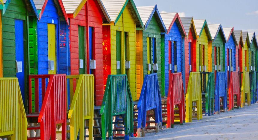 Colorful Cape Town