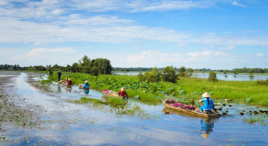 Halong Bay or Mekong Delta: Countryside