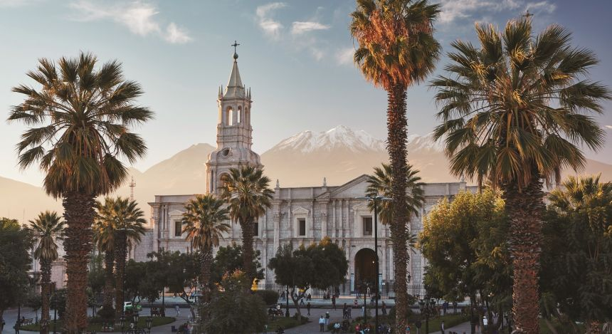 History of Peru - heritage building in Lima - Luxury Train Ride in The Peruvian Andes