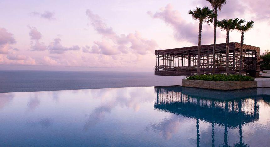 Enchanting Travels Indonesia Tours Uluwatu Hotels Aliva Villa Uluwatu view