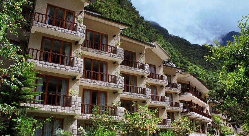 Außenfassade des Sumaq Machu Picchu Hotels