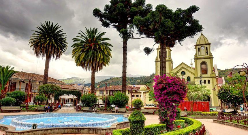 Gualaceo village near Cuenca