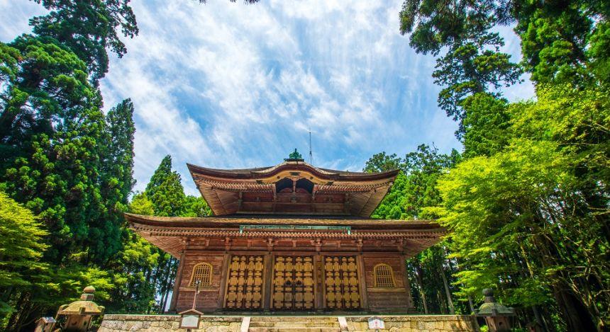 Enryakuji Temple near Kyoto