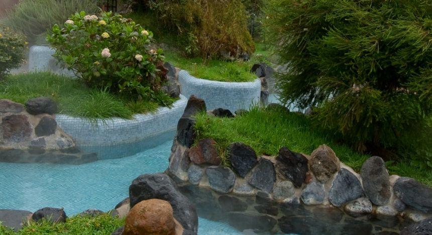 Hot springs at Papallacta