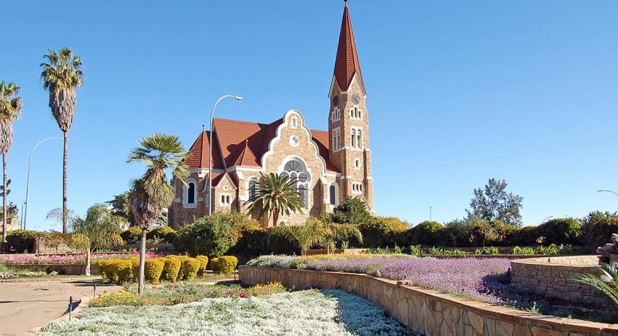 Windhoeks Wahrzeichen: Deutsche Christuskirche