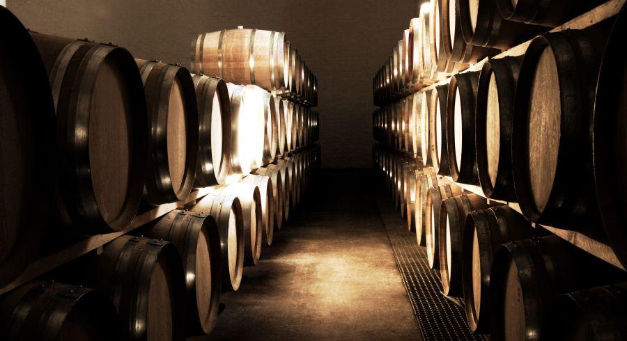 Weinkeller in Südafrika