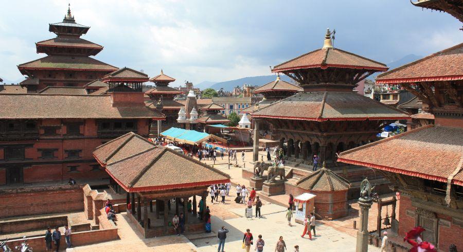 Der Durbar Square ist eines der Highlights des Kathmandu-Tals