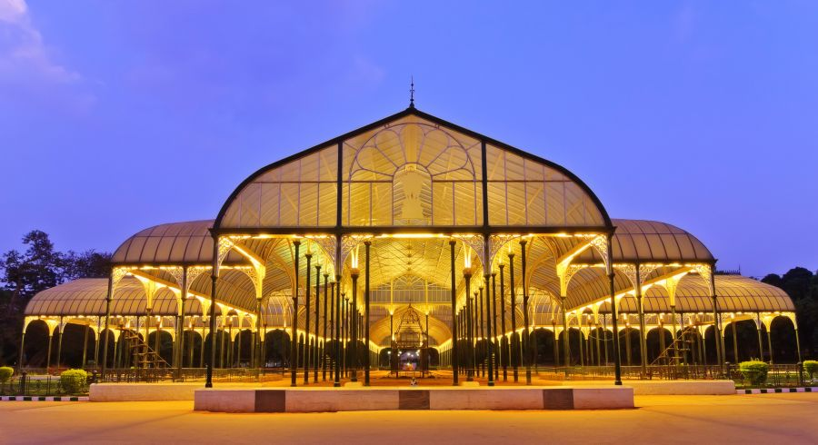 Lal Bagh Park in Bangalore