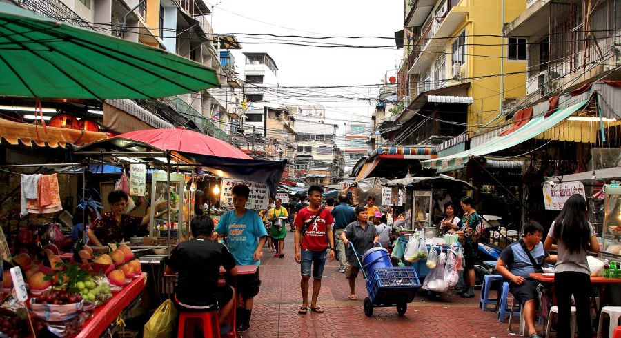 Security in Thailand: In the busy markets