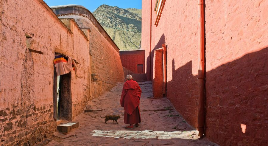 Enchanting Travels Tibet Tours Buddhist Monk