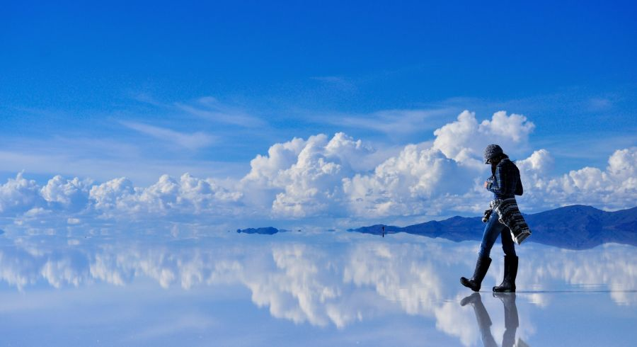 Uyuni Wüste zur Regenzeit