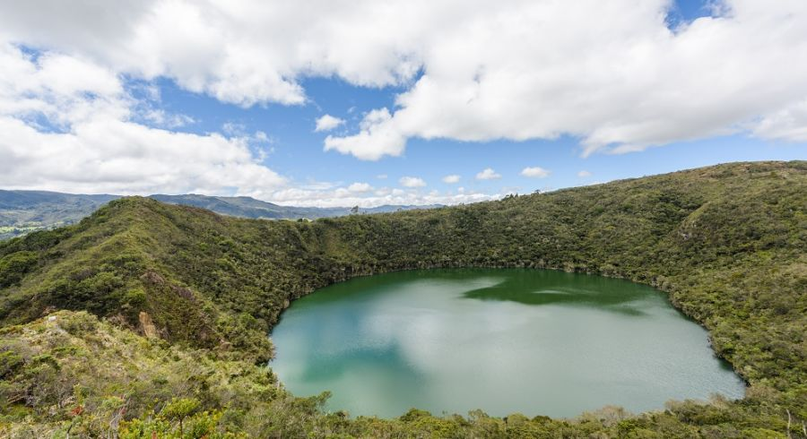 Lake Guatavita, Kolumbien