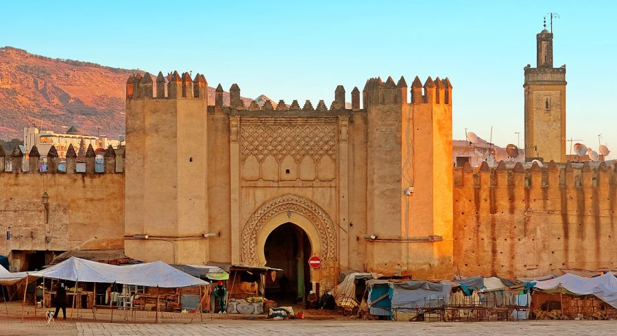 Enchanting Travels Morocco Tours Gate to ancient medina of Fez, Morocco - Image