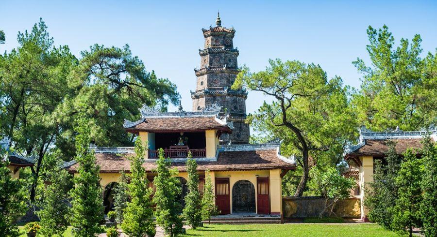 The Perfume Pagoda in Hanoi