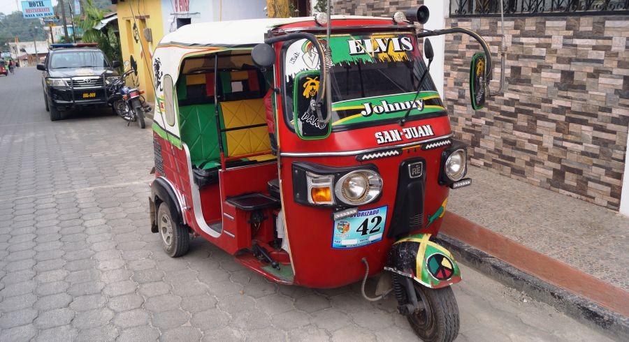 Tuk Tuk in Guatemala