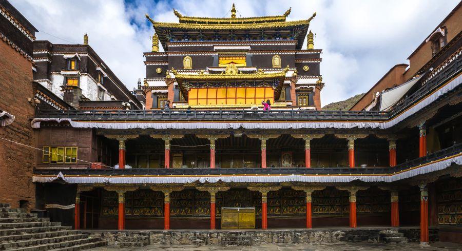 Tashilhunpo Kloster in Tibet