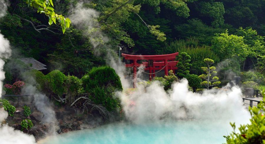 Hot spring in Beppu