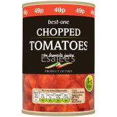 Best-one Chopped Tomatoes in Tomato Juice