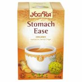 Yogi Tea Stomach Ease Organic Cardamom Fennel Ginger Tea
