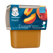 Gerber Peach Pudding 2nd Baby Foods
