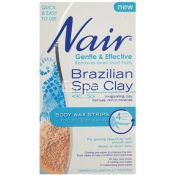 Nair Spa Clay Wax Strips